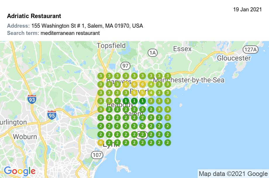 Adriatic Restaurant mediterranean restaurant 9x9 1mi Jan 19 2021 4 42 PM