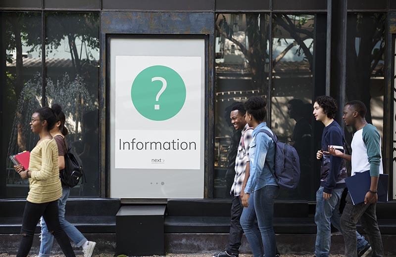 ask for customer data